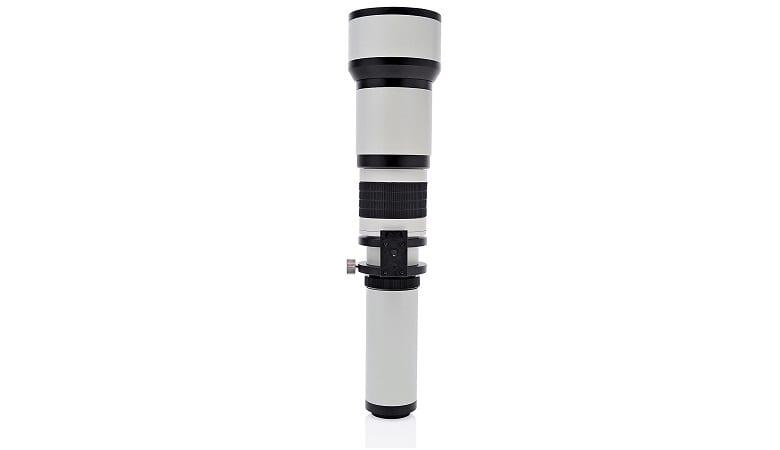 Opteka 650-1300mm Lens