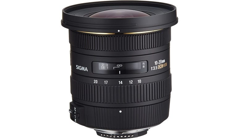 Sigma 10-20mm f/3.5 EX DC HSM ELD SLD