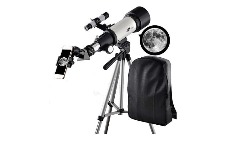 SOLOMARK Astronomical Refractor Portable Telescope