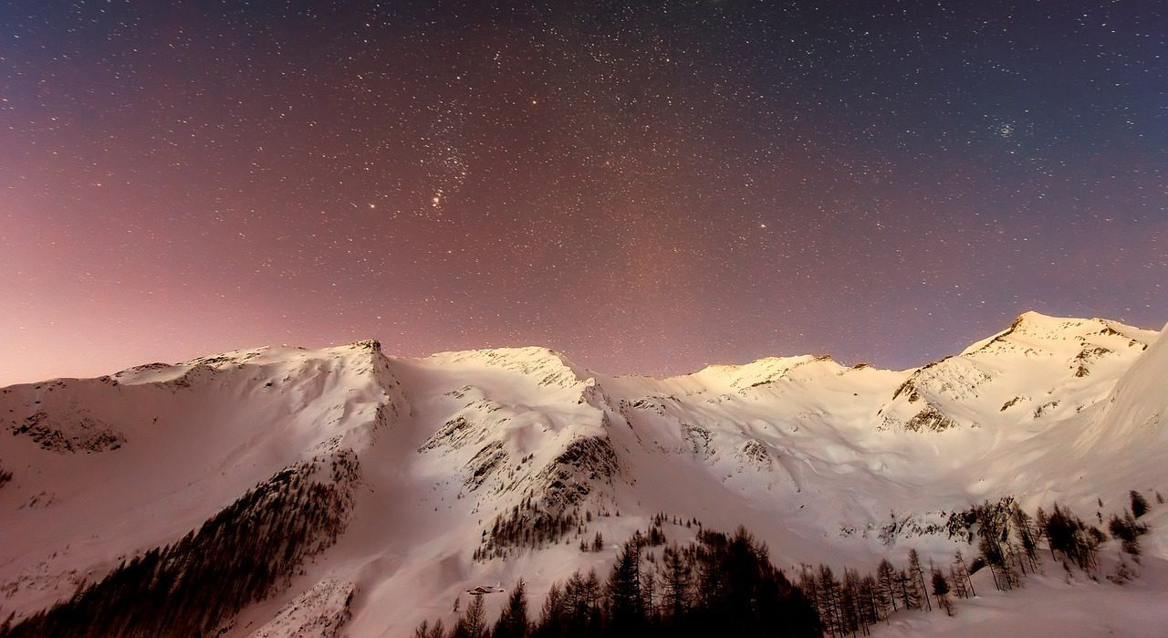 winter astrophotography