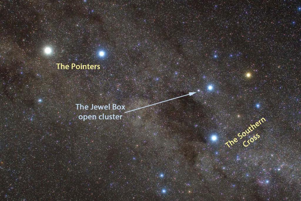 The-Jewel-Box-Cluster Constellation
