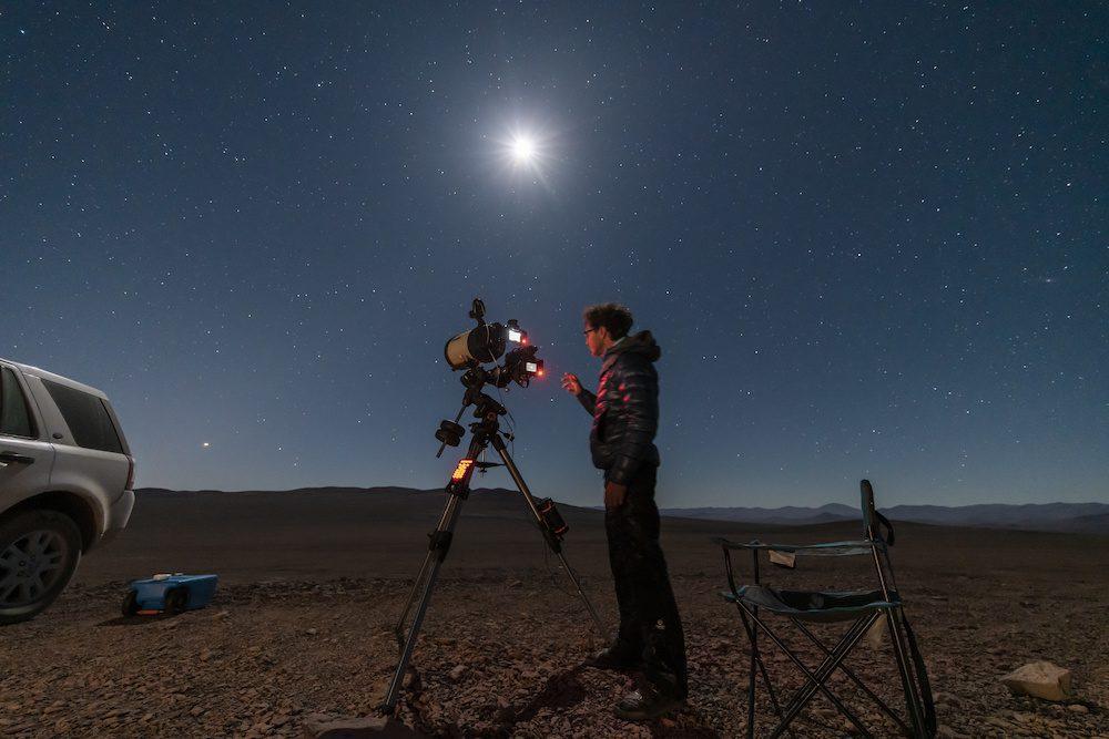 how to focus a telescope