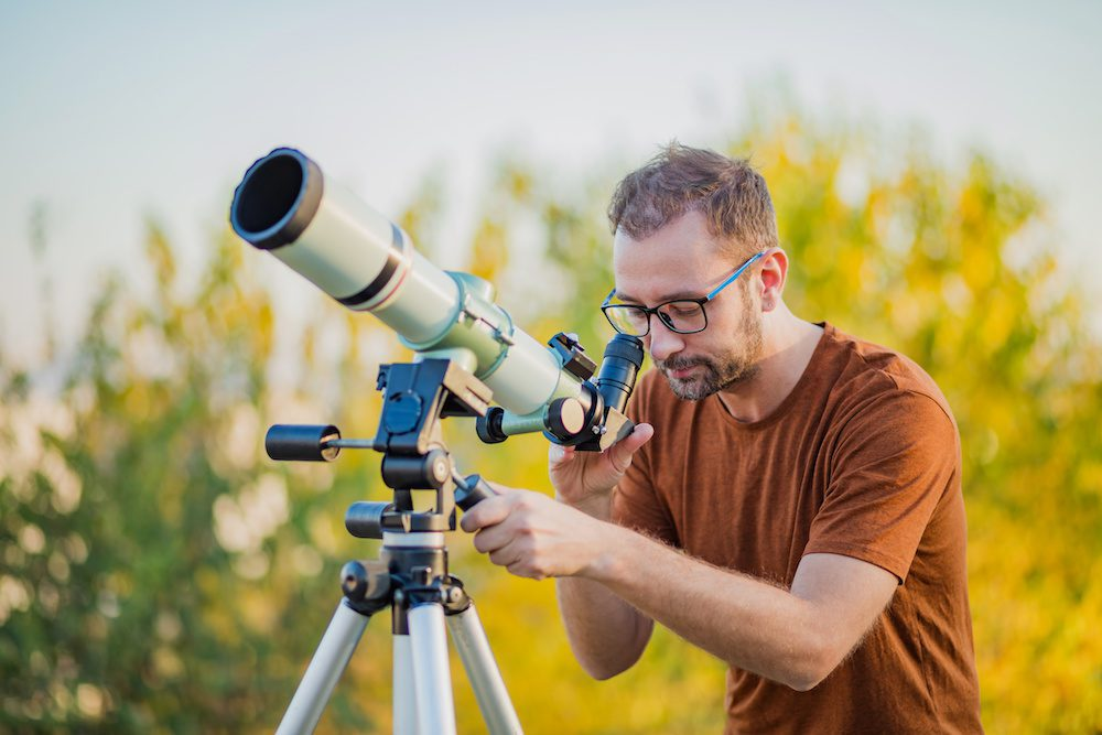 tips on how to polar align a telescope during the day