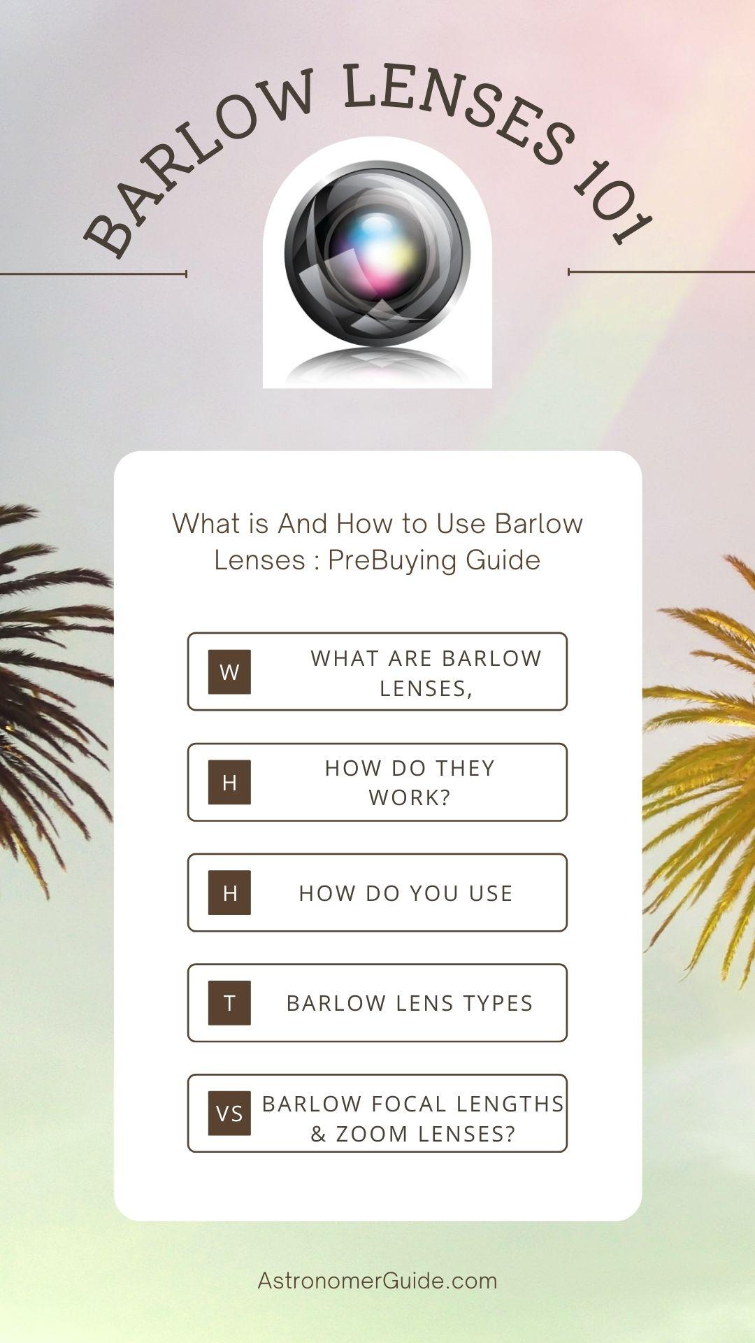 barlow-lenses